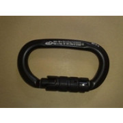 CT alu oval tripple lock zwart